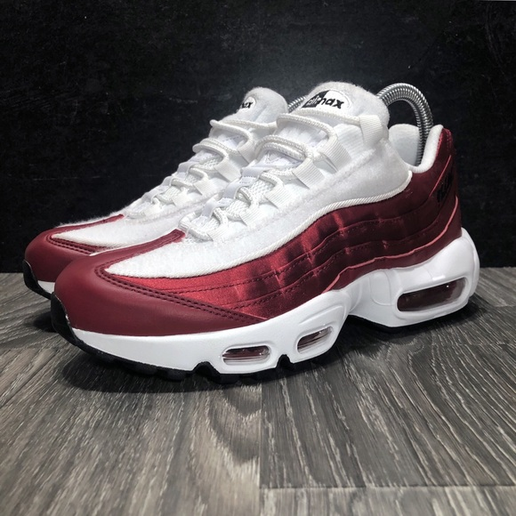 Nike Air Max 95 LX Red Crush Satin & Terry NWOT